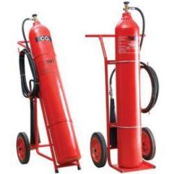 Bình chữa cháy khí CO2 có xe đẩy MT24