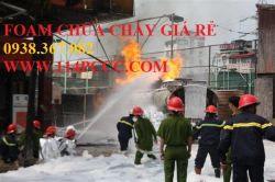 Sản xuất foam chữa cháy